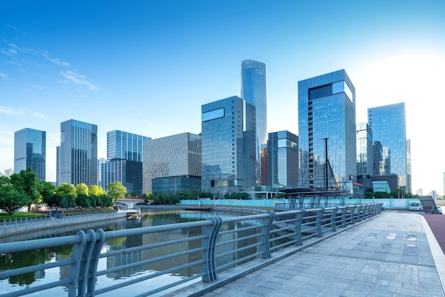 Современные городские высотные здания