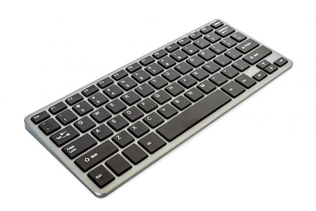 分離された現代のコンピューターのキーボード