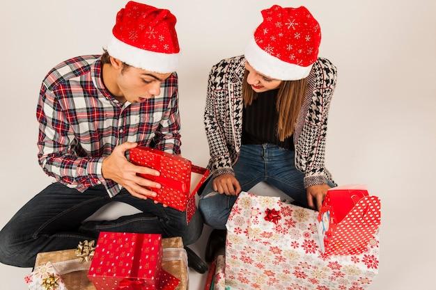 서로 선물 현대 부부