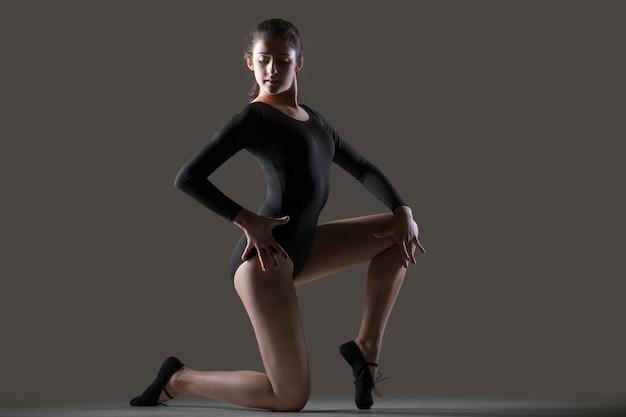 Modern dancer training