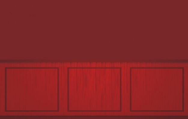 현대 어두운 빨간색 클래식 사각형 모양 패턴 벽 디자인 배경.