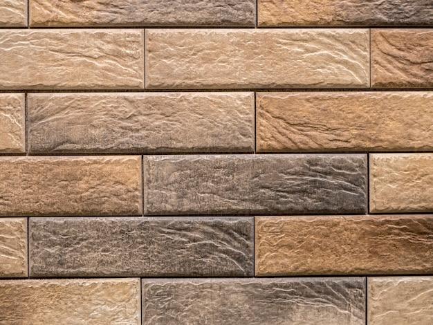 Modern decor clean wall brick texture background