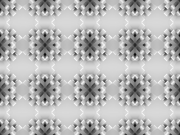 Modern design of seamless staircase pattern on gray wall background.