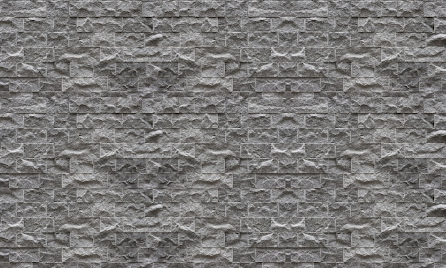 Modern design stone brick block masonry fence stack wall texture background