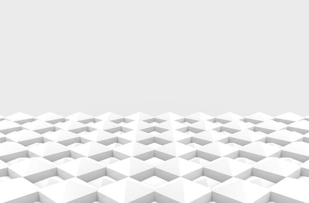 Modern diagonal square grid pattern ceramic tiles design floor