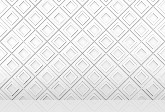 현대 인디언 사각형 패턴 그리드 블록 벽 및 바닥 배경.