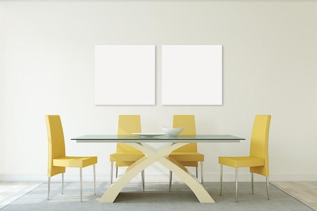Современный интерьер столовой