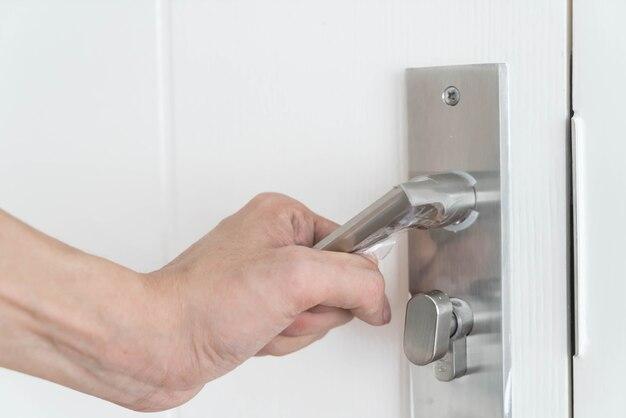 Modern door handle & Door Lock Vectors Photos and PSD files | Free Download