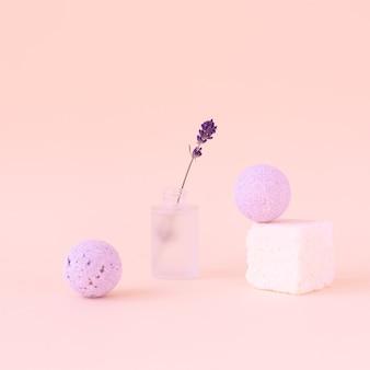 Modern and ecofriendly bath tools natural soft face massage micellar water bath balls