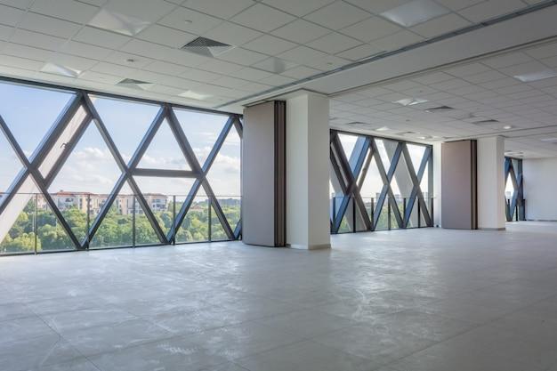 Modern empty interior architecture design