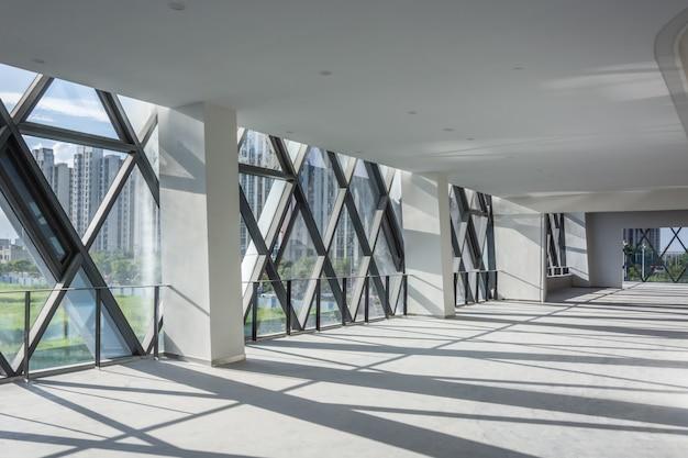 현대 빈 인테리어 건축 디자인