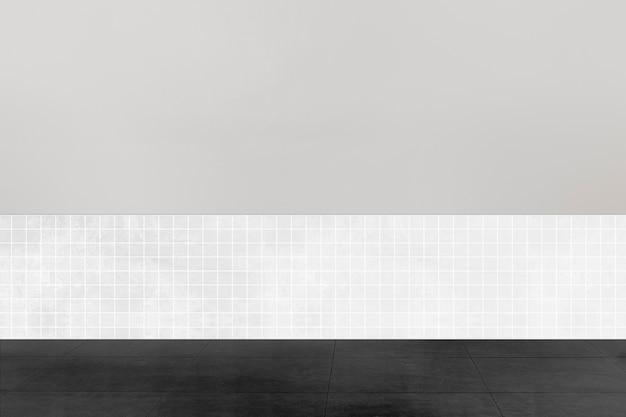 Interior design autentico della stanza vuota moderna