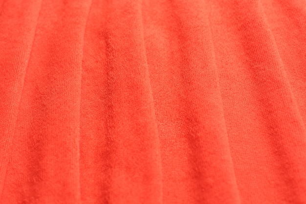 Modern fabric coral coloured