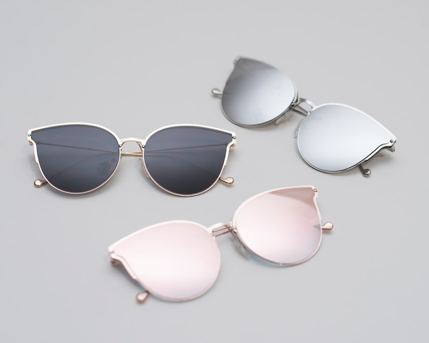 Modern fashionable sunglasses