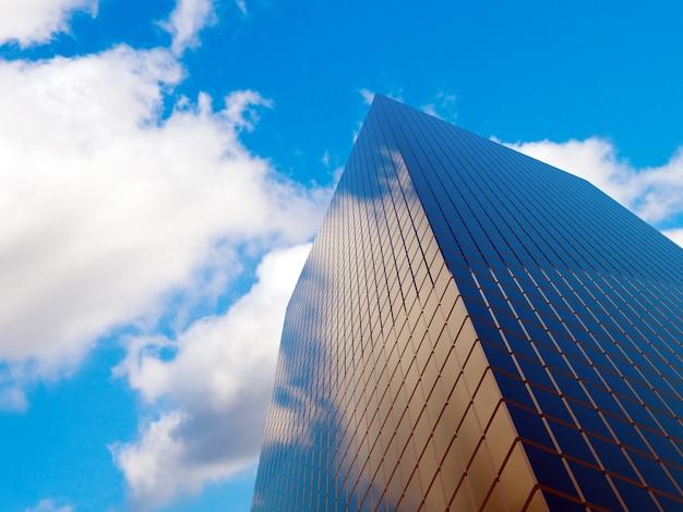 사업 법인을위한 현대 금융 부동산 건물