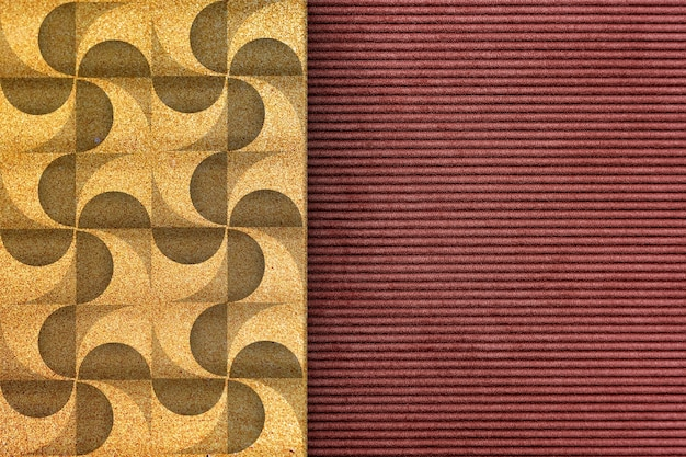 Modern geometric background design