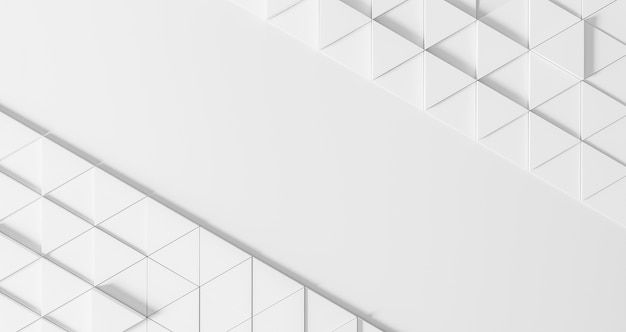 Modern geometrical background with white triangles