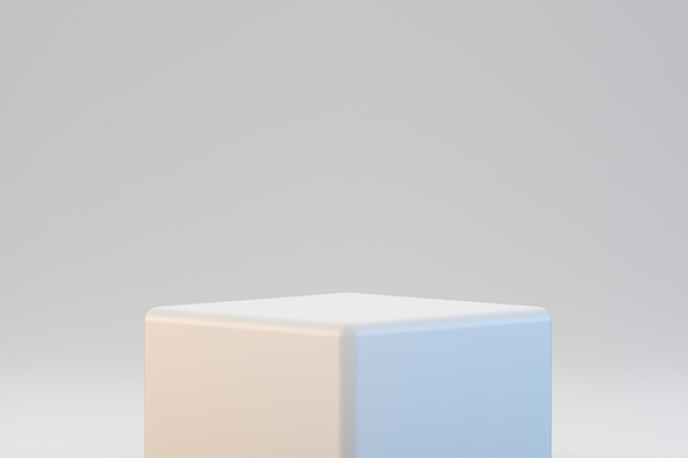 Modern geometrical podium