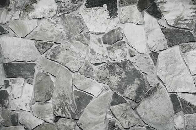 Modern grey stone wall background