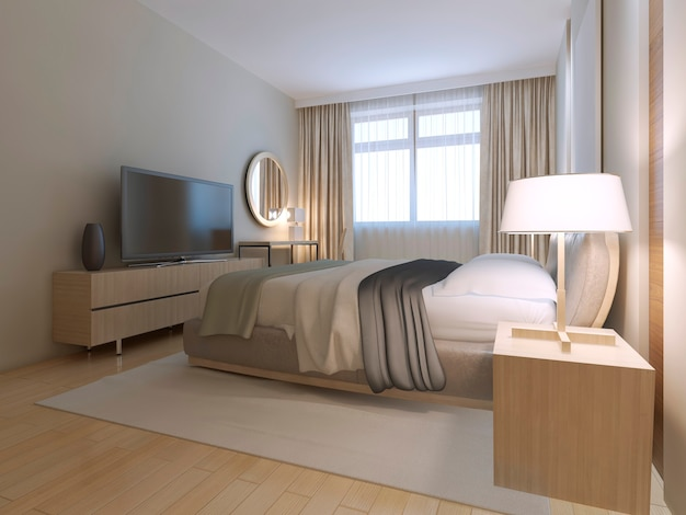 Modern guest bedroom design