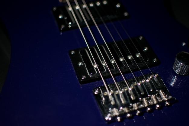 Modern guitar. background, instrument.