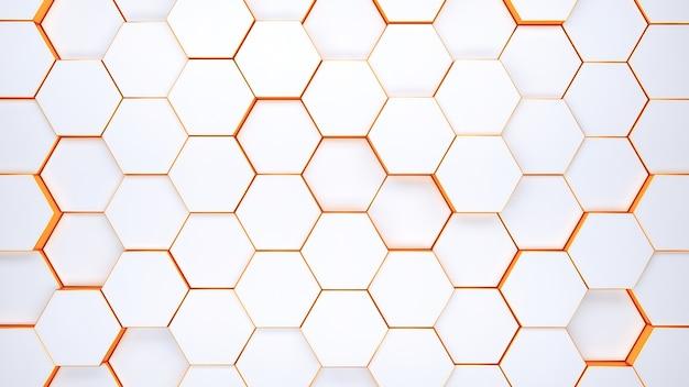モダンな六角形の背景テクスチャパターン