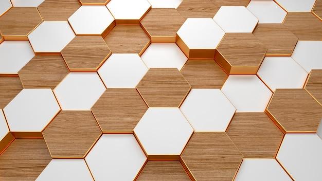Современный гексагональный фоновый узор текстуры