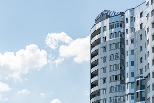 Modern high-rise building