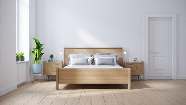 침실의 현대적인 인테리어