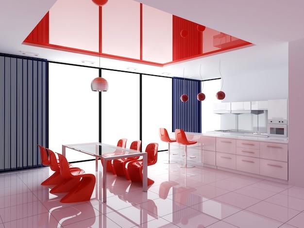 Современный интерьер кухни