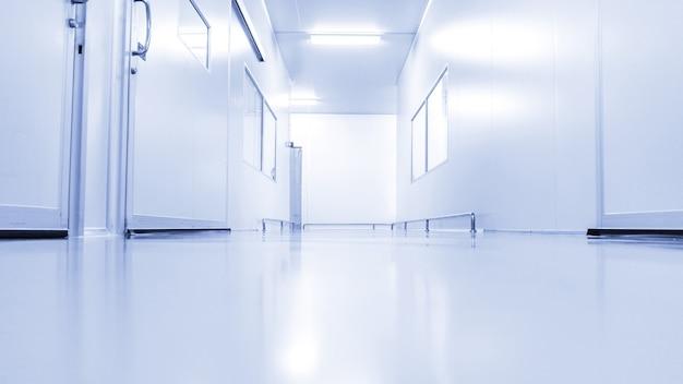 Современный лабораторный интерьер больницы