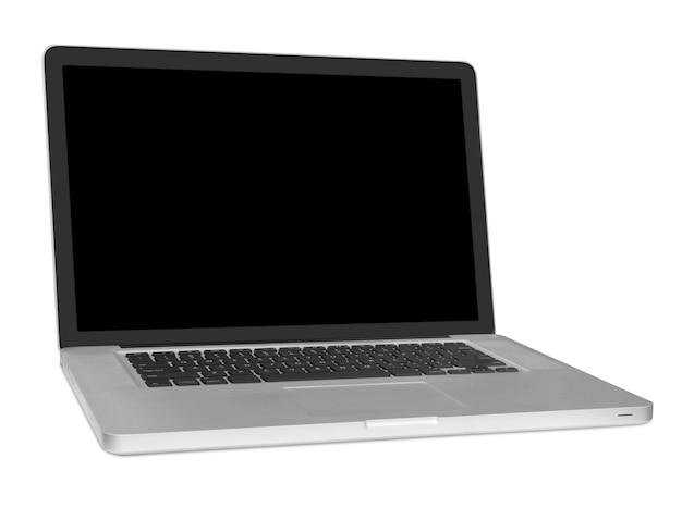 Современный ноутбук изолирован