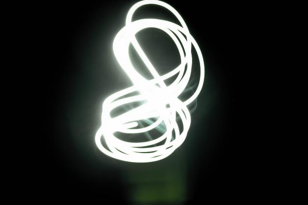 近代的な光抽象的な色の輝き