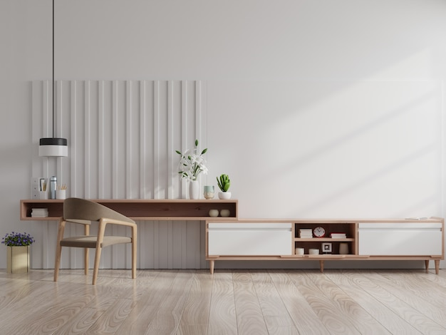 현대 거실 인테리어 안락의 자, 현대 거실 캐비닛에 tv.
