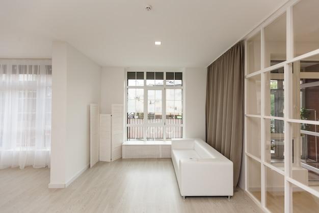 Modern living room window