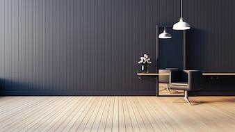 Modern & living salon interior