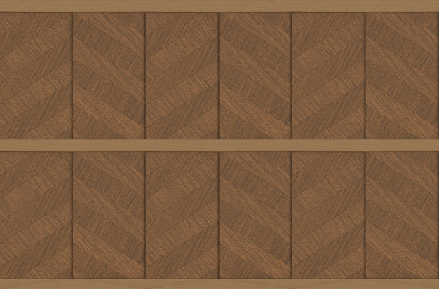 Modern luxurious hardwood panels wall design texture background.
