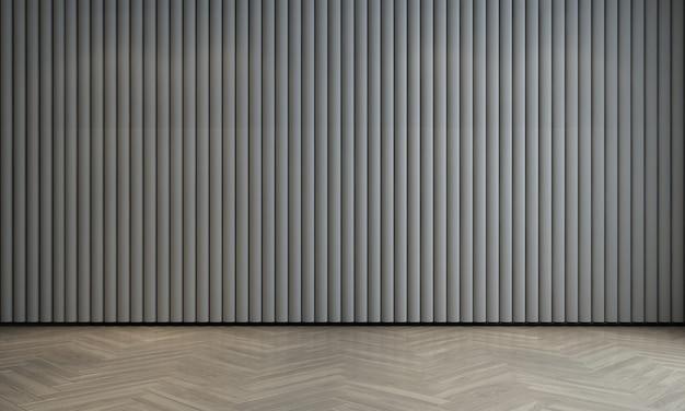 Современный роскошный интерьер и макет дизайна пустой гостиной и белого узора стены текстуры фона