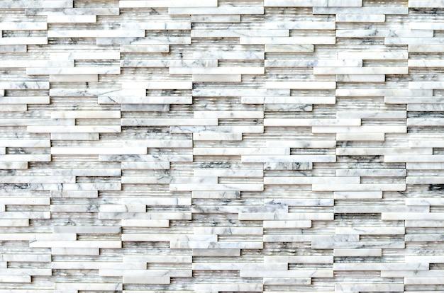 Современная мраморная кирпичная стена