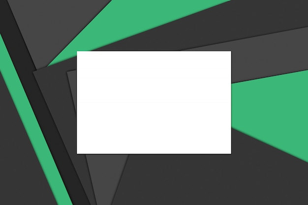 Modern material design, color paper composition, abstract banner and background.