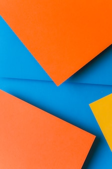 Modern material design colored paper backdrop