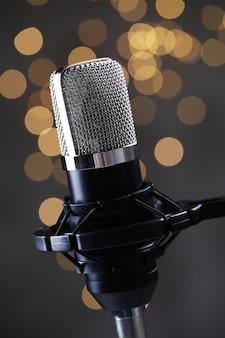 Современный микрофон