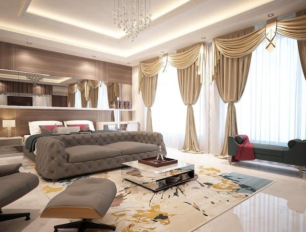 현대적인 미니멀리즘 마스터 침실 인테리어 디자인 컨셉과 아이디어