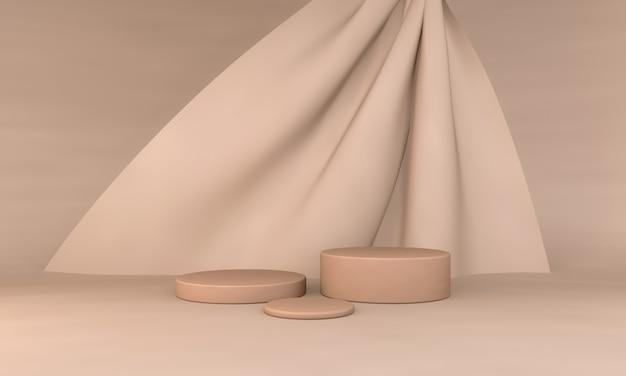 Современный минимализм пустой подиум для демонстрации продукта