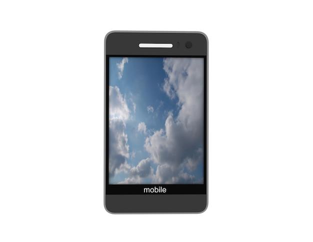 Современные мобильные телефоны с сенсорным экраном