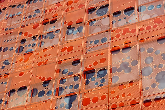 Modern office building facade