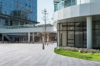 Modern Office Building in Software Park, Chongqing, China