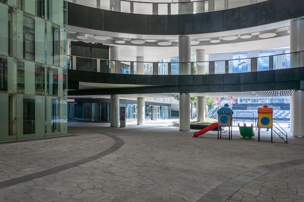 Modern office building in jiaxing