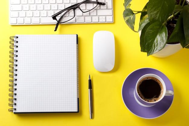 Modern office desk table