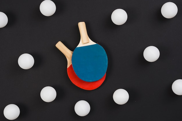 Modern ping pong equipment composition